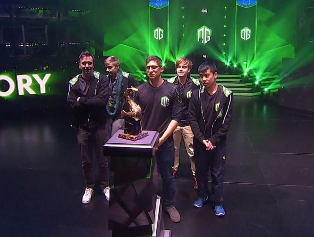 OG claim their third Major title
