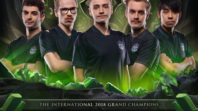 OG are the The International 2018 Champions!